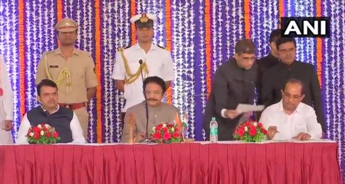 महाराष्ट्र कैबिनेट का विस्तार: राधाकृष्ण पाटिल सहित 13 मंत्रियों ने ली शपथ