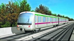 चीन से आएंगी तीन बोगियों की 5 रैक, हर एक घंटे में चलेगी मेट्रो