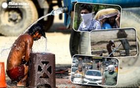 दिल्ली में गर्मी ने तोड़ा पांच साल का रिकॉर्ड, मुंबई में राहत की बारिश