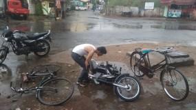 तेज हवा के साथ हुई बारिश , नागपुर समेत विदर्भ का तापमान गिरा