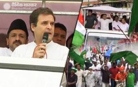 राहुल ने वायनाड में किया रोड शो, कहा- नफरत फैला रही मोदी सरकार