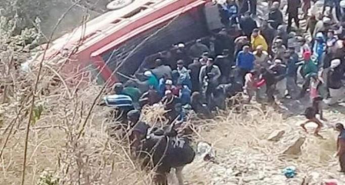 कश्मीर के शोपियां में सड़क हादसा, 11 छात्रों की मौत, 7 घायल