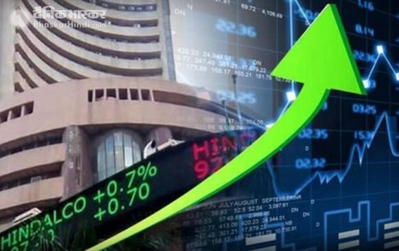 शेयर बाजार में तेजी का रुख, सेंसेक्स 93 और निफ्टी 31 अंक चढ़ा
