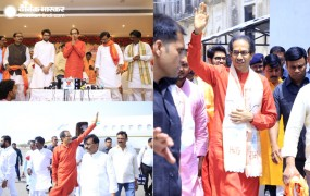 अयोध्या: रामलला के दर्शन करने के बाद बोले उद्धव- जल्द बनेगा राम मंदिर