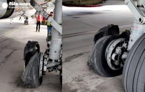 जयपुर: हवा में फटा स्पाइसजेट के विमान का टायर, 189 यात्रियों को सुरक्षित निकाला गया