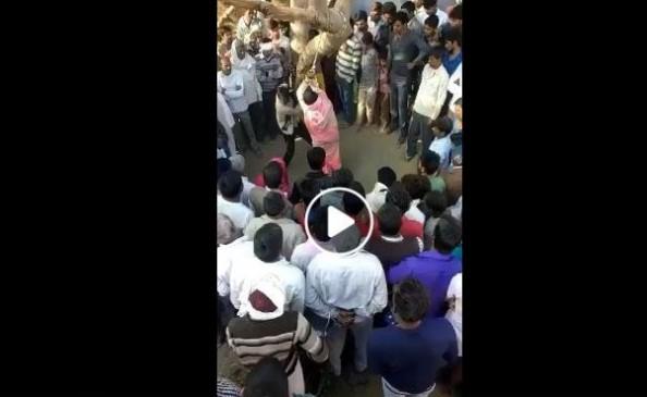 Fake News: RSS के लोगों ने महिला को पेड़ से बांध कर पीटा ?