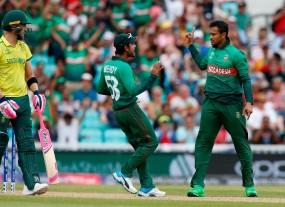 World Cup 2019 : बांग्लादेश का बड़ा उलटफेर, साउथ अफ्रीका को 21 रनों से हराया