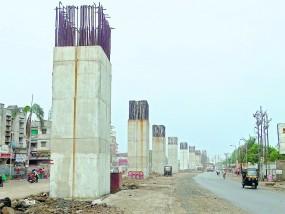 पारडी ब्रिज : 500 करोड़ के प्रोजेक्ट में सामने आ रही खामियां