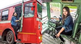 मुंबई की 24 वर्षीय पहली महिला बेस्ट बस ड्राइवर प्रतीक्षा दास