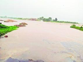 गड़चिरोली के 100 गांवों का संपर्क टूटा, नदी-नाले उफान पर