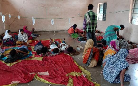 कुएं का दूषित पानी पीने से पूरा गांव डायरिया की चपेट, 60 बीमार