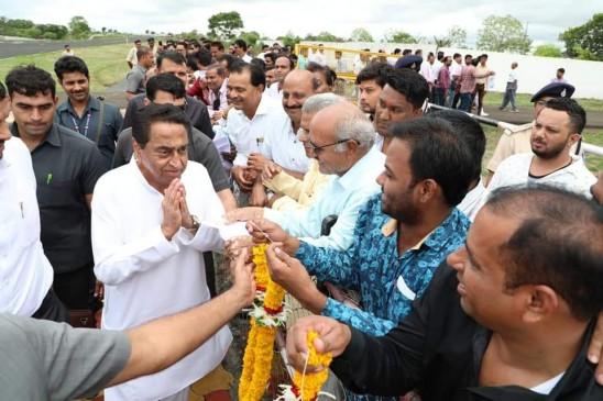 प्रदेश के बजट में कटौती करने पर केन्द्र सरकार पर बरसे मुख्यमंत्री कमलनाथ