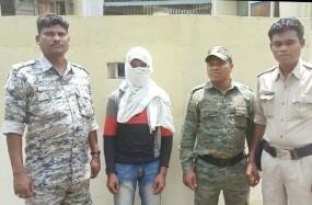 मंडला पुलिस ने पकड़ा नक्सलीयों का मददगार , छह माह में सामने आया दूसरा मामला