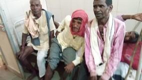 वर्षा के लिए कीर्तन कर रहे ग्रामीणों पर गिरी गाज, एक की मौत, 17 घायल