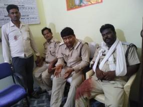 वन विभाग की टीम पर माफिया ने किया घातक हमला ,दर्जन भर घायल