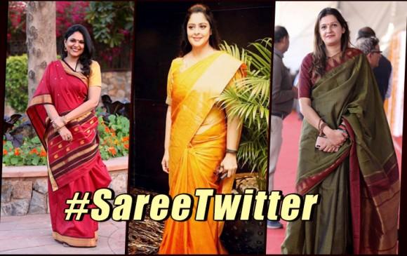 Ohhh! तो इस वजह से ट्विटर पर शुरु हुआ #sareetwitter ट्रेंड, इन महिलाओं ने बताई साड़ी की महत्ता