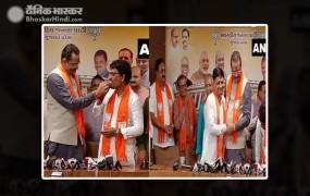 अल्पेश ठाकोर, धवल सिंह बीजेपी में शामिल, राज्यसभा उपचुनाव में की थी क्रॉस वोटिंग