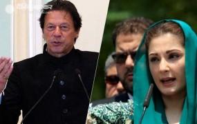 इमरान ने US में कहा, पाकिस्तान में प्रेस को पूरी आजादी, उधर..किसी चैनल को नहीं दिखाने दी मरियम की प्रेस कांफ्रेंस