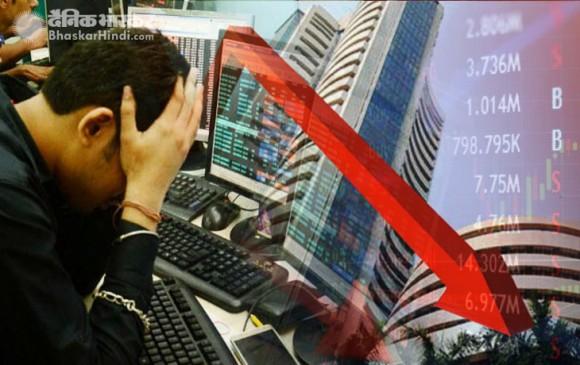 शेयर बाजार में 3 साल की सबसे बड़ी गिरावट, निवेशकों के डूबे 5 लाख करोड़ रुपए