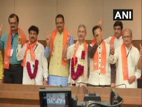 गुजरात : बीजेपी का दावा, राज्यसभा चुनाव में जयशंकर-जुगलजी ठाकोर की जीत