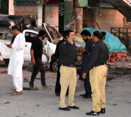 पाकिस्तान में बम विस्फोट, 5 लोगों की मौत 35 घायल