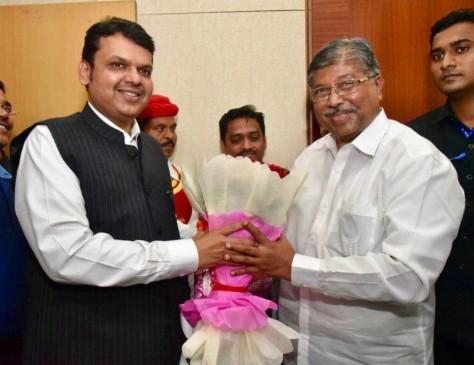 महाराष्ट्र भाजपा की कमान चंद्रकांत दादा पाटील के हाथ, सीएम ने दी बधाई