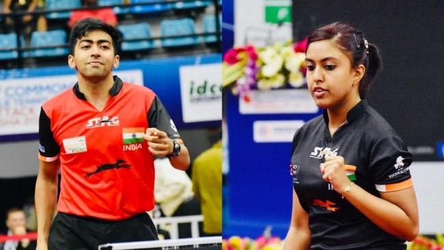 commonwealth TT championships: भारत का क्लीन स्वीप, 7 गोल्ड जीते