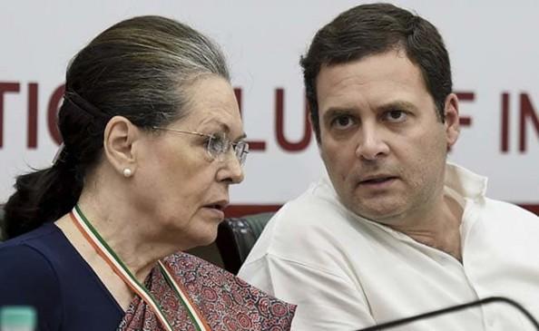दिल्ली: कांग्रेस के लोकसभा सांसदों के साथ सोनिया गांधी ने की बैठक