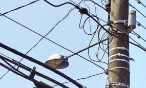 हाईटेंशन विद्युत तार से लगातार हो रहे हादसे