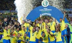 Copa America 2019: ब्राजील ने 9वीं बार टूर्नामेंट का खिताब जीता, फाइनल में पेरू को 3-1 से हराया