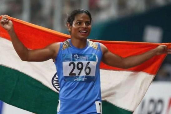दुती चंद ने रचा इतिहास, ग्लोबल इवेंट में गोल्ड जीतने वाली पहली भारतीय