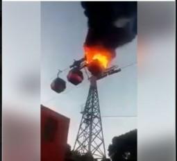 Fake News: हरिद्वार के मनसा देवी झूले में लगी आग ?