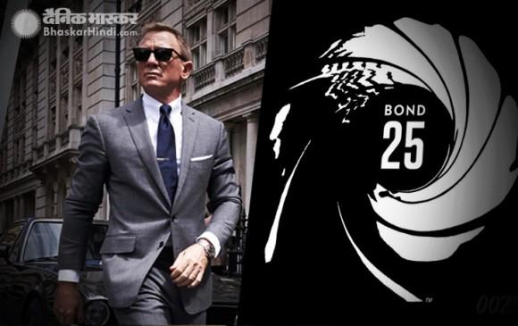 सामने आया 'बॉन्ड 25' के 'जेम्स बॉन्ड' का लुक, हैंडसम लग रहे डेनियल क्रेग