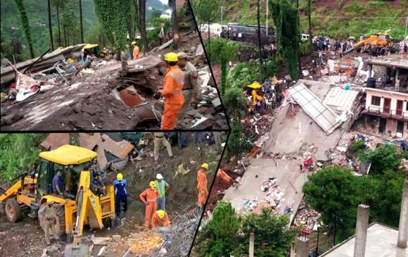 हिमाचल: इमारत ढहने से 13 जवानों समेत 14 की मौत, CM ने दिए जांच के आदेश