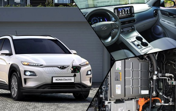 Hyundai KONA भारत में लॉन्च, एक बार चार्ज करने पर चलेगी 425KM