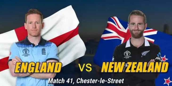 World Cup 2019: इंग्लैंड की सेमीफाइनल में एंट्री, न्यूजीलैंड को 119 रनों से हराया