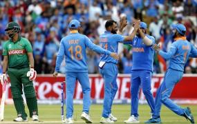 World Cup 2019 : सेमीफाइनल में पहुंचा भारत, बांग्लादेश को 28 रनों से हराया