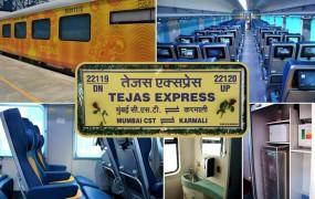 देश की पहली प्राइवेट ट्रेन होगी दिल्ली-लखनऊ 'तेजस' एक्सप्रेस