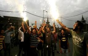 सेमीफाइनल में भारत की हार पर श्रीनगर में मनाया गया जश्न, देखें वीडियो