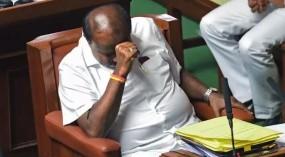 कर्नाटक : राज्यपाल की डेडलाईन के बावजूद नहीं हो सका विश्वास मत, विधानसभा स्थगित
