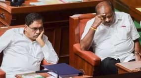 कर्नाटक: विधानसभा स्थगित, विश्वास मत पूरा कराने के लिए शाम 6 बजे की डेडलाइन