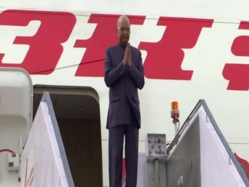 तीन अफ्रीकी देशों की यात्रा पर रवाना हुए राष्ट्रपति रामनाथ कोविंद