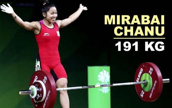 मीरबाई चानू ने जीता गोल्ड, भारत ने 13 पदकों पर किया कब्जा