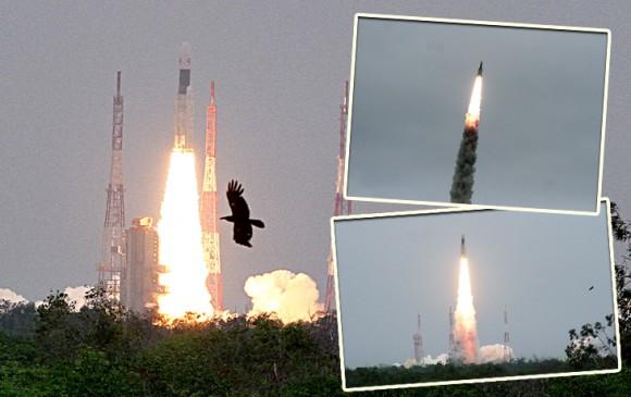 चंद्रयान-2 लॉन्च, तस्वीरों और वीडियो में देखिए ISRO का 'मिशन मून'