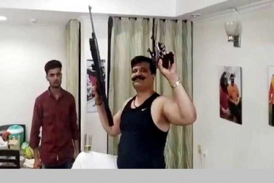 'तमंचे पर डिस्को' करने वाले भाजपा विधायकप्रणव सिंह चैंपियन निलंबित