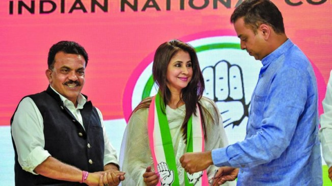 मुंबई कांग्रेस में फिर बवाल, उर्मिला मातोंडकर की चिट्ठी लीक...संजय निरूपम पर निशाना