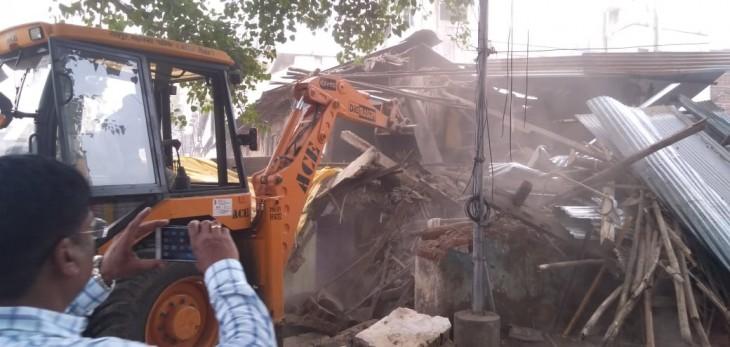 नागपुर : मेट्रो भवन का निर्माण कार्य ही अवैध, नहीं ली फायरब्रिगेड डिपार्टमेंट की अनुमति