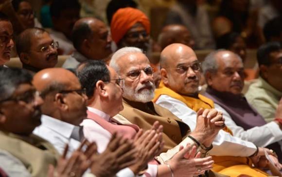 दिल्ली: प्रधानमंत्री नरेन्द्र मोदी के नेतृत्व में बीजेपी संसदीय दल की अहम बैठक जारी