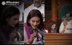 संसद में शपथ के दौरान नुसरत जहां ने इसलिए छुएं थे स्पीकर के पैर!
