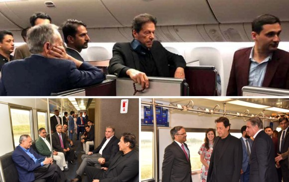 अमेरिका: पाक PM इमरान का नहीं हुआ स्वागत, मेट्रो में बैठकर जाना पड़ा होटल